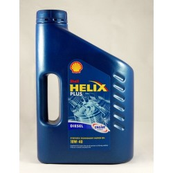 4L SHELL HELIX PLUS DIESEL 10W40
