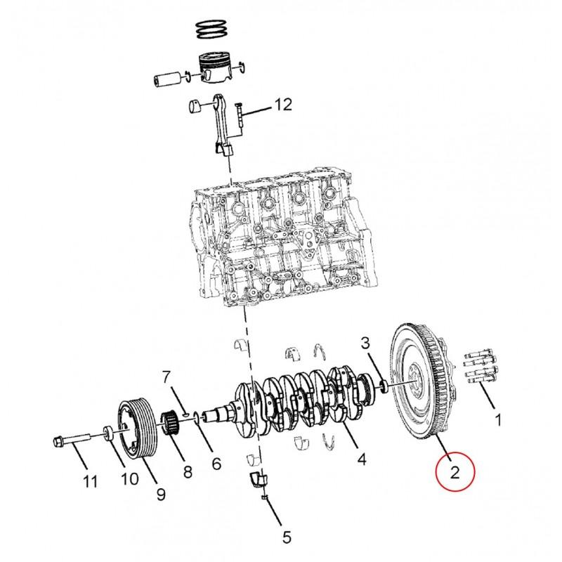 Dual Mass Flywheel 240 Dia Clutch Tata Webshop