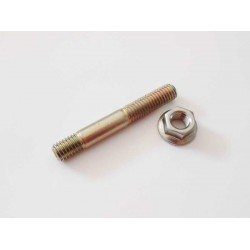 CYLINDRICAL PIN (TENSIONER) - REVERSIBLE THREAD