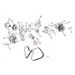AUTO TENSIONER FOR BELT (KOMPLET - PS PUMP + ALT + AC)