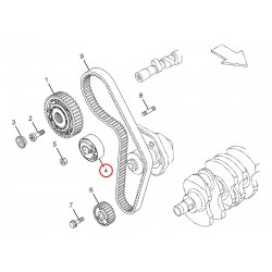 ASSY TENSIONER TIMING BELT