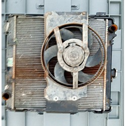 RADIATOR WITH FAN used